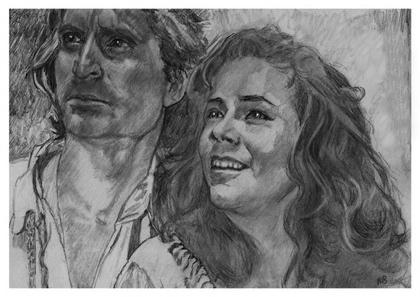 Kathleen Turner, Michael Douglas por nev777